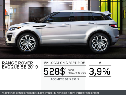Le Range Rover Evoque SE 2019