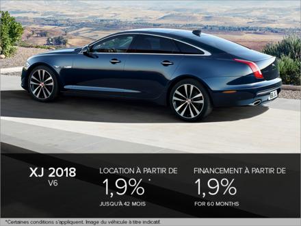 La Jaguar XJ V6 2018