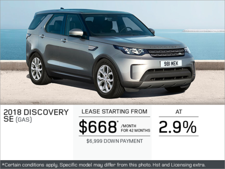 The 2018 Discovery