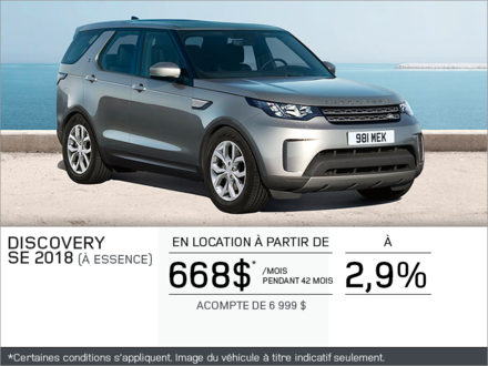 Le Discovery 2018