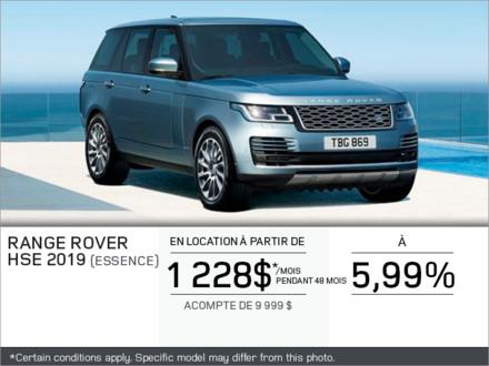 Le Range Rover HSE 2019