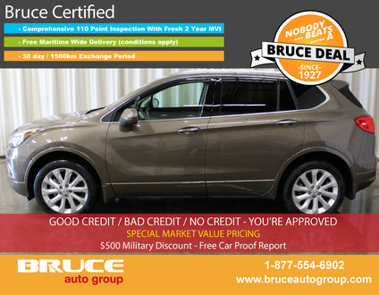 2017 Buick ENVISION Premium II 2.0L 4 CYL TURBO AUTOMATIC AWD