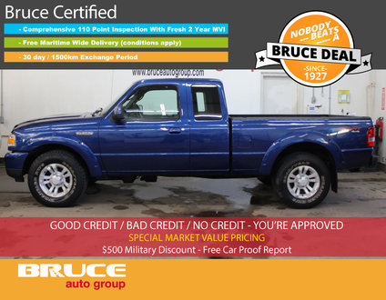 2011 Ford Ranger SPORT 4.0L 6 CYL AUTOMATIC 4X4 SUPERCAB