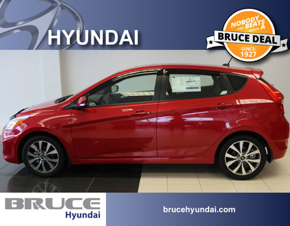 2017 Hyundai Accent GLS 1.6L 4 CYL 6 SPD MANUAL FWD 5D HATCHBACK