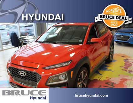 2018 Hyundai Kona ULTIMATE 1.6L 4 CYL TURBO AUTOMATIC AWD