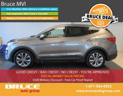 2013 Hyundai Santa Fe SPORT LIMITED 2.0L TURBOCHARGED AUTOMATIC AWD