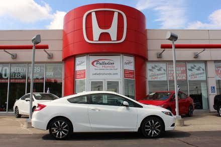 2013 Honda Civic Cpe EX-L - NAVIGATION - LEATHER SEATS - MOONROOF