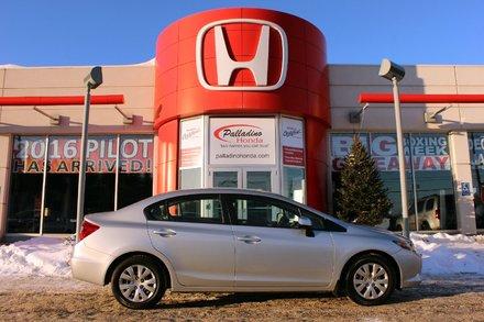 2012 Honda Civic Sdn LX- BLUETOOTH & MORE!