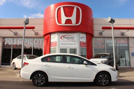 2013 Honda Civic Sdn EX, 4 CYLINDER 1.8L ENGINE AUTOMATIC, BLUETOOTH