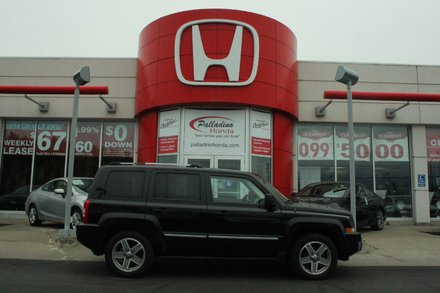 2008 Jeep Patriot Limited -LEATHER INTERIOR - 4X4 - HEATED SEATS