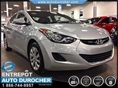 2012 Hyundai Elantra AUTOMATIQUE TOUT ÉQUIPÉ BLUETOOTH
