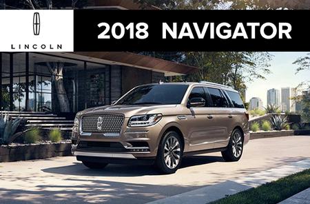 2018 NAVIGATOR select