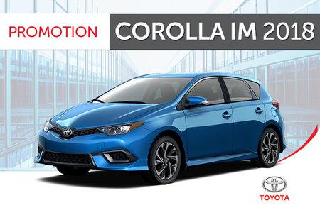 Toyota Corolla iM 6M 2018