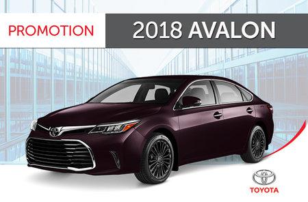2018 Toyota Avalon Touring 6A