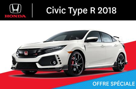 Honda Civic Type R manuel 2018