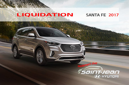 Liquidation Neuf Santa Fe XL 2017