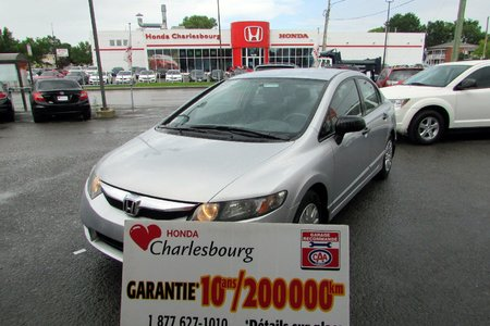 Honda Civic DX 2010 GARANTIE 10 ANS 200,000KM