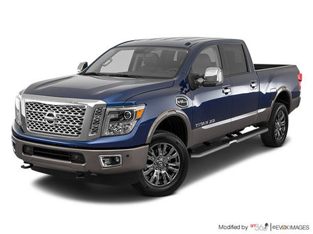 Nissan Titan XD Gas PLATINUM 2018 - photo 2