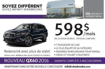 Infiniti QX60 2016 en location