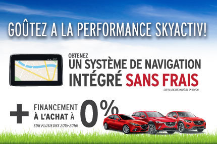 L'événement Goûtez à la performance Skyactiv