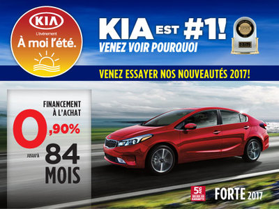 À moi l'été: La Kia Forte 2017
