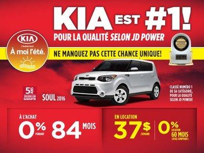 La Kia Soul 2016 parfaite pour vous
