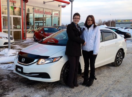Very satisfied of the service, very welcoming, enjoyed doing business with Rachel! Yanick Thibault & Cynthia Fontaine