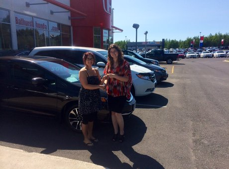 Great service, well greeted! Martine Roussel