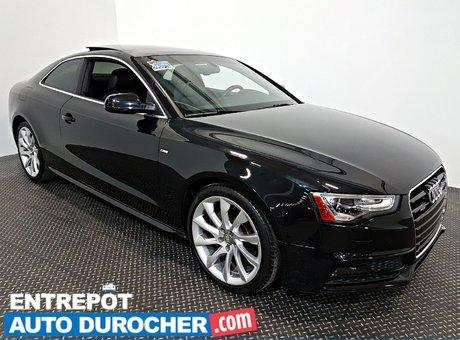 Audi A5 Progressiv 4X4 NAVIGATION - Toit Ouvrant - A/C - 2014