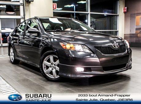 Toyota Camry SE CUIR TOIT MAGS AILERON 2009 *** SEULEMENT 70$/SEM TOUT INCLUS 0$ COMPTANT