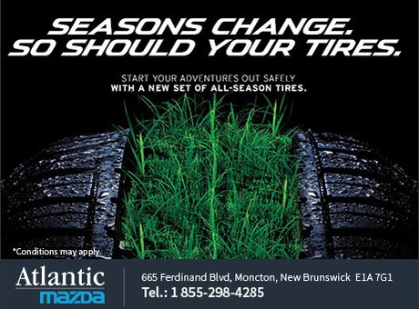 Seasons change. So should your tires!