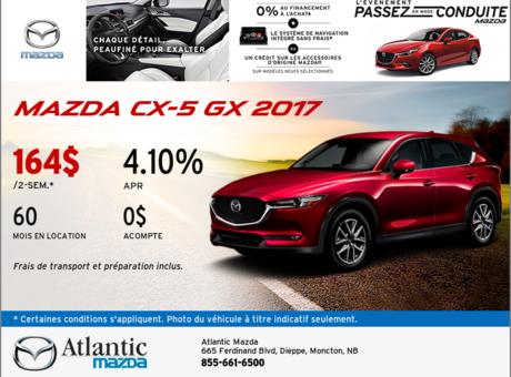Louez le Mazda CX-5 2017 aujourd'hui!