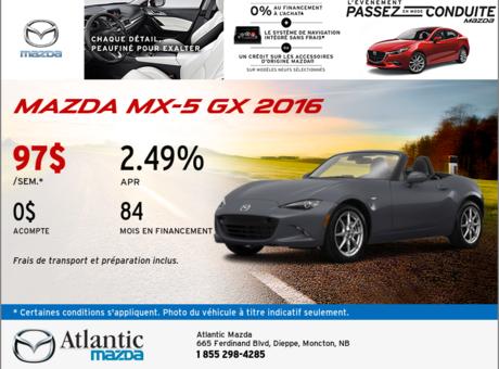 Mazda MX-5 GX 2016!