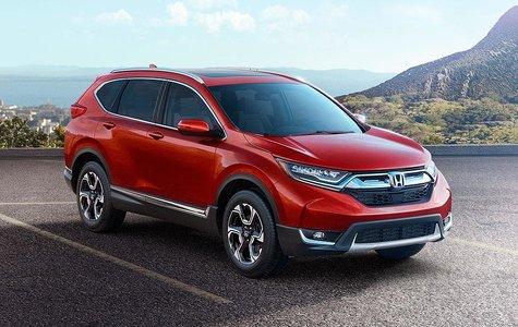 The new 2017 Honda CR-V: turbo and more stylish