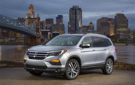 The 2017 Honda Pilot will give the whole family plenty of space