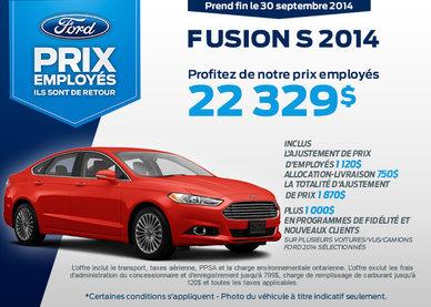 Ford Fusion 2014 à l'achat à partir de 22 329$