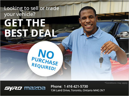 Get the Best Deal at Gyro Mazda