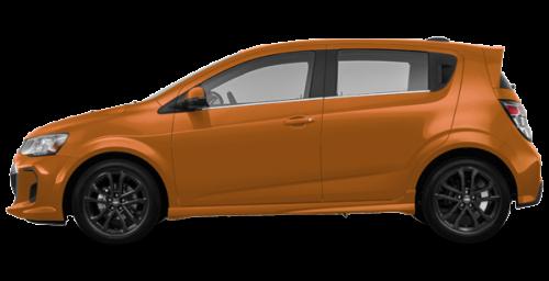 Éclat d'orange métallisé