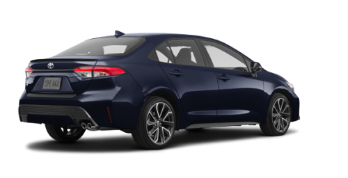 Toyota Certified Pre Owned >> 2020 Toyota Corolla XSE CVT in Montreal (West Island) | Spinelli Toyota Pointe-Claire