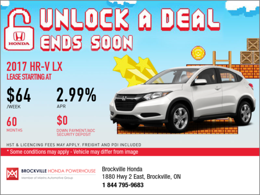 Save on the 2017 Honda HR-V Today!