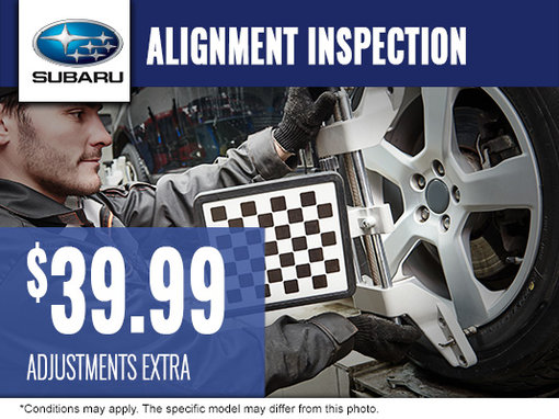 $39.99 Alignment Inspection