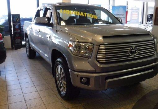 Toyota Tundra PLATINUM EDITION 2016