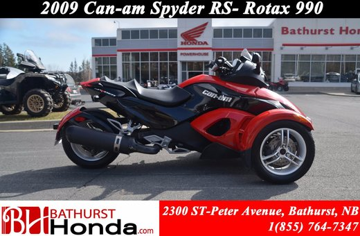 2009 Can Am Spyder RS ...