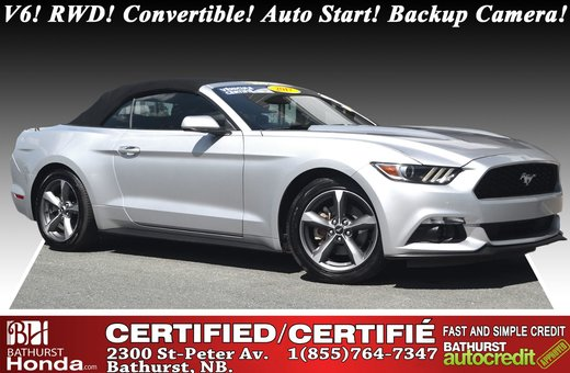 Ford Mustang V6 - RWD 2017