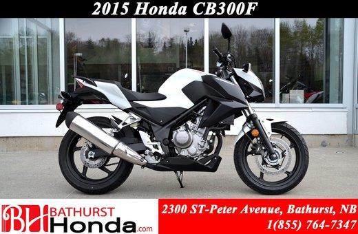 New 2015 Honda CB300F At Bathurst