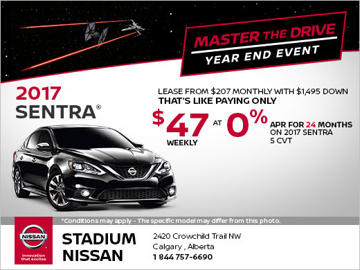 Save on the New 2017 Nissan Sentra