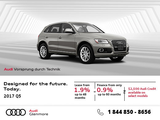 Save Big on the 2017 Audi Q5
