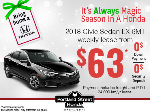 Save on the 2018 Civic!