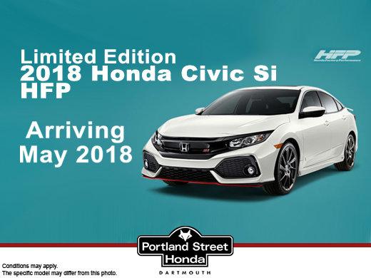 COMING SOON: The new 2018 Honda Civic Si HFP!