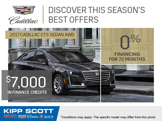 Save Big on the 2017 Cadillac CTS Sedan!